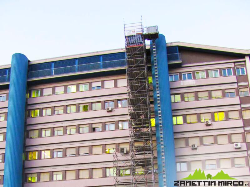 Porte tagliafuoco Ospedale S.Chiara di Trento